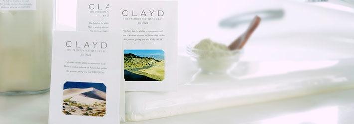 世界中のセレブが注目する温泉を超えた入浴剤 クレイドフォーバス ワンタイム特典付特別プラン CLAYD×一休.com
