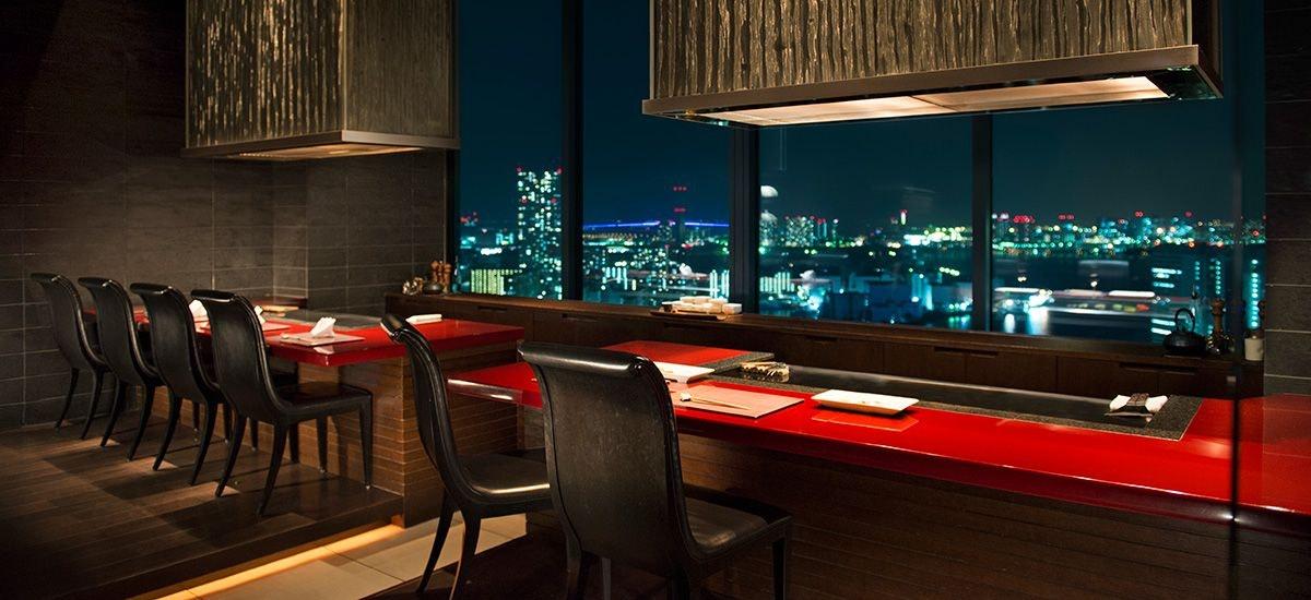 コンラッド東京 レストラン
