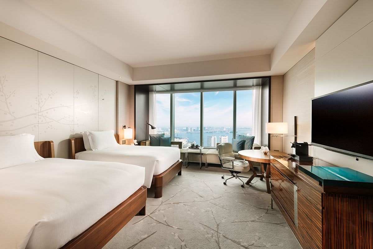コンラッド東京 客室一例