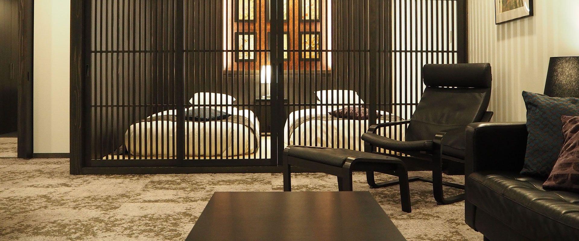 檜の宿 水上山荘 客室一例