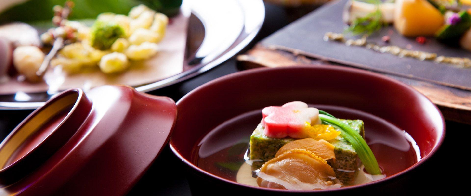 檜の宿 水上山荘 料理一例