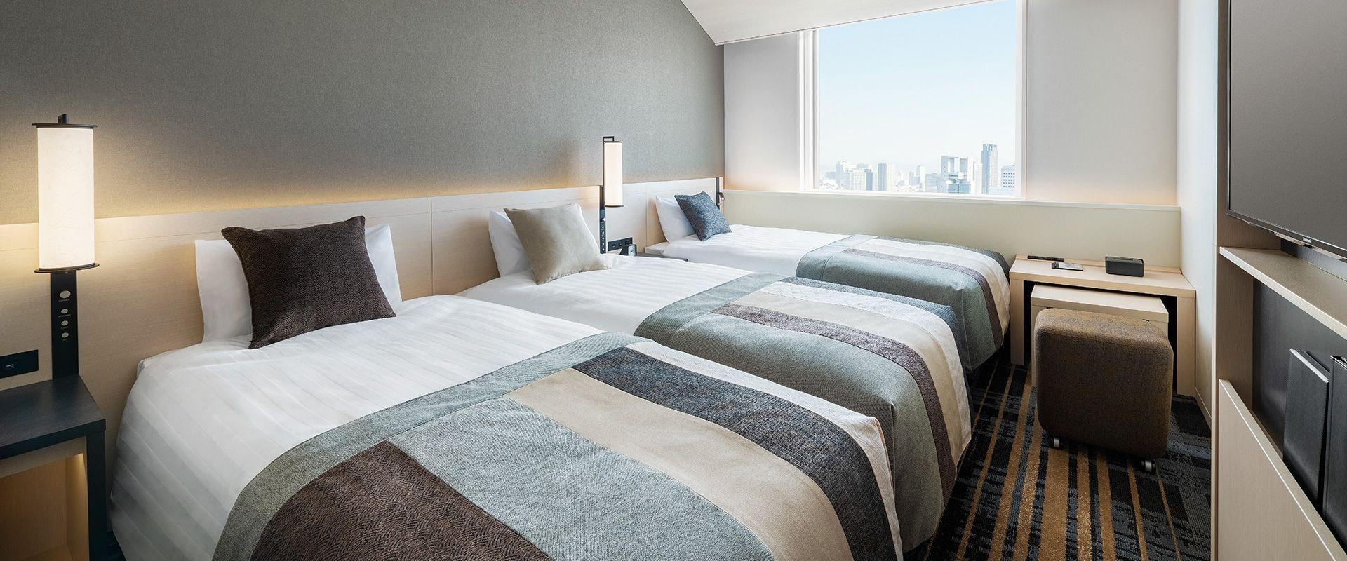 ホテル阪急レスパイア大阪 客室一例
