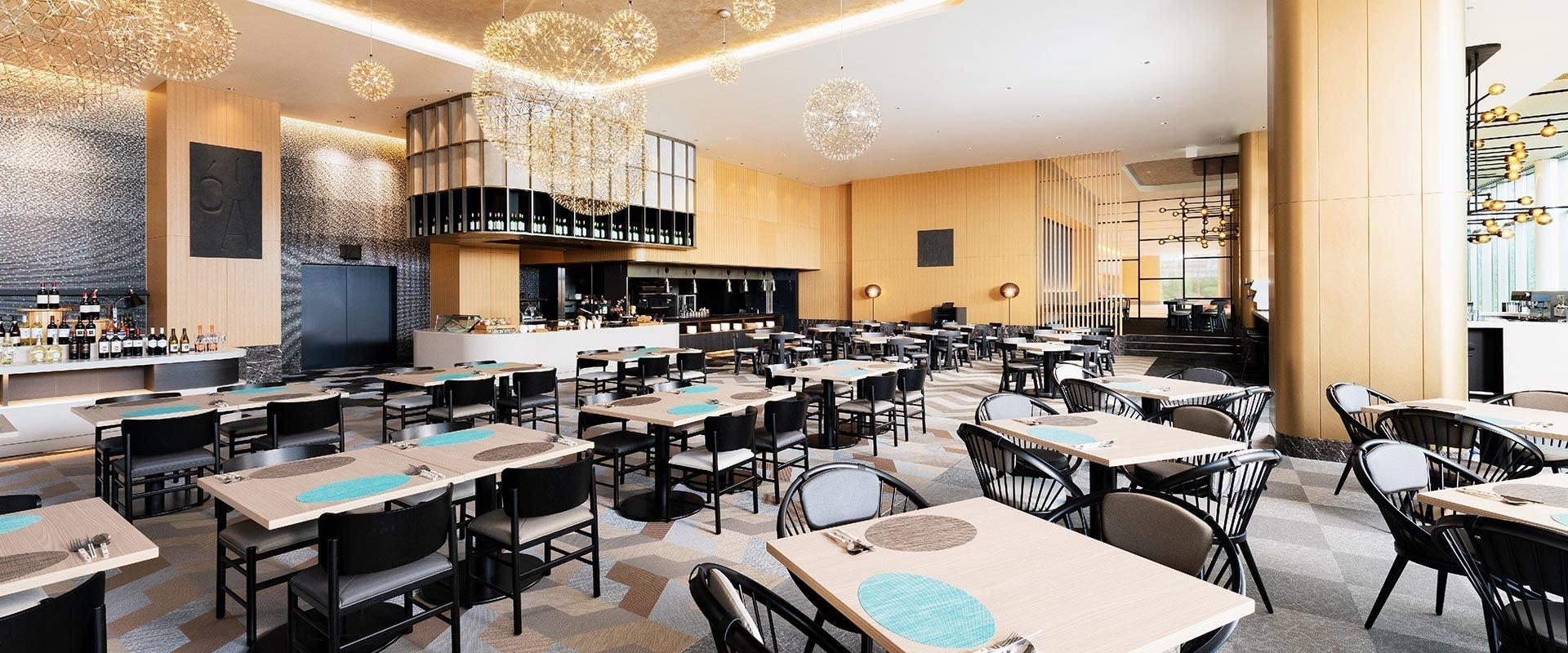ホテル阪急レスパイア大阪 レストラン