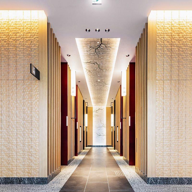 ホテル阪急レスパイア大阪 エレベーターホール