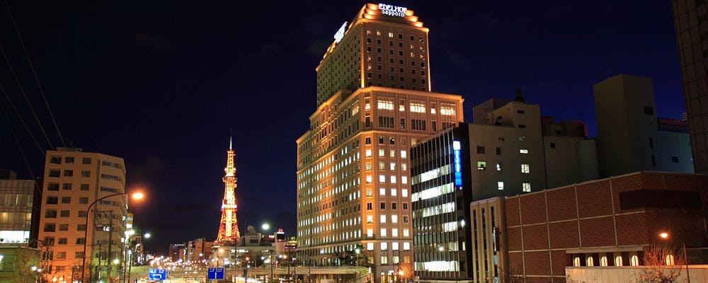ホテルモントレエーデルホフ札幌(ホテル外観)