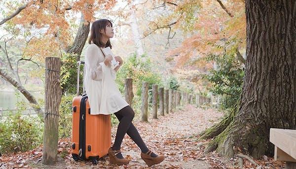 女子ひとり旅