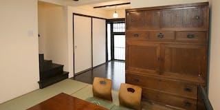 1階お部屋 間仕切りを無くした開放的な空間となっております。