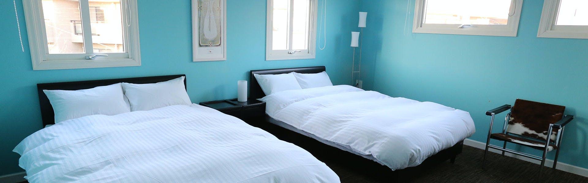 RoomA ベッドルーム