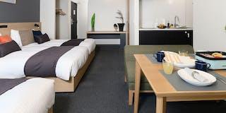 アパートメント (シングルベッド4台)