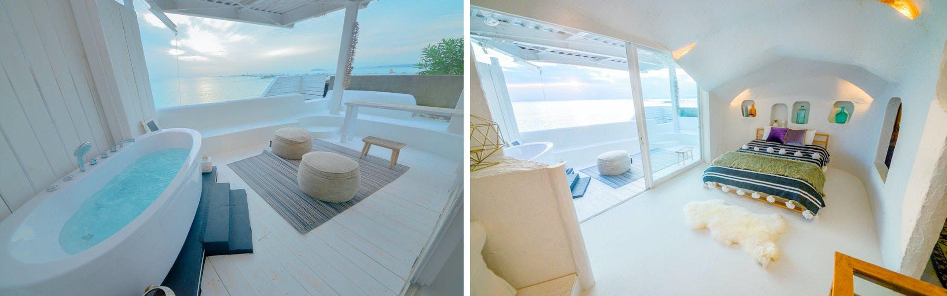 2F天蓋付きベッドルーム