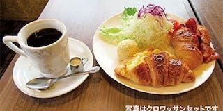 前田珈琲の朝食一例