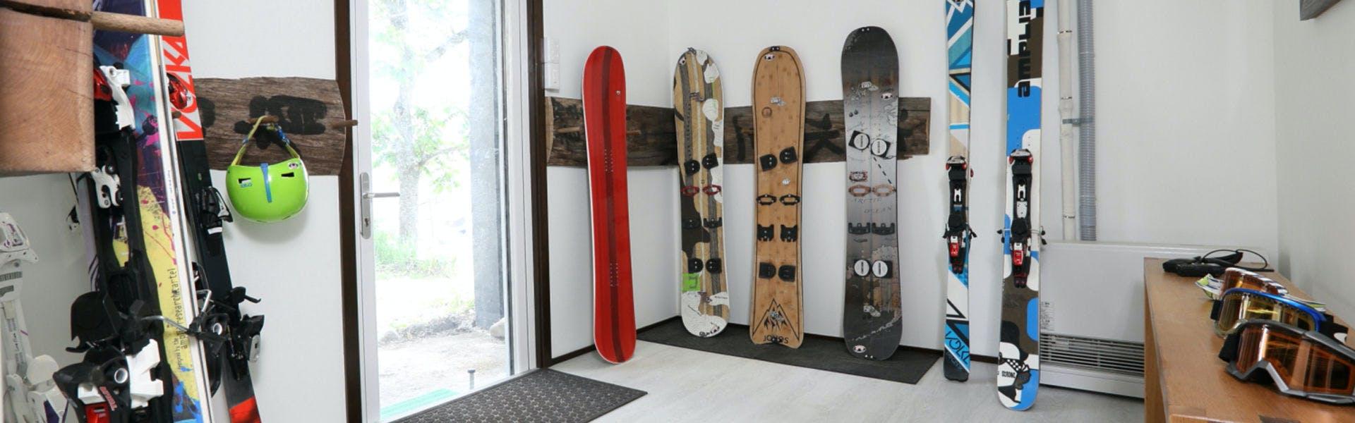 スキーラック