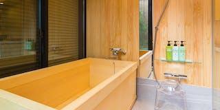 檜のお風呂