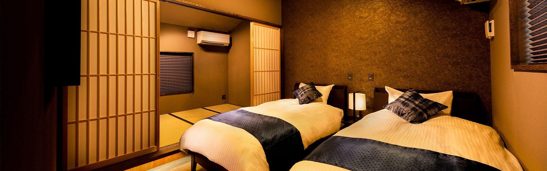 ベッドルーム&和室