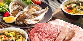 【グランピングBBQ】山海食べ尽くしコース
